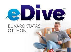 e-Dive • Búvároktatás otthon