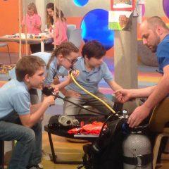 Búvárkodásról gyerekeknek! TV-riport