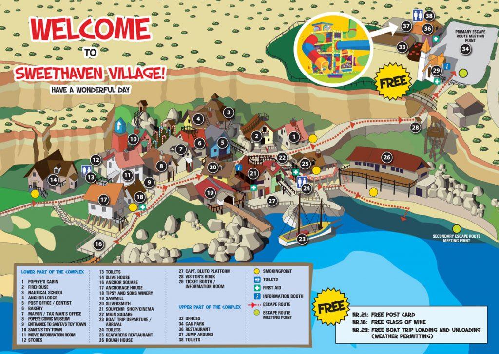 popeye falu malta családi búvár túra