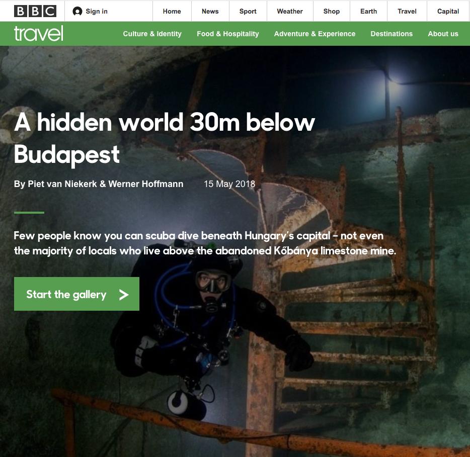 kőbánya dive BBC travel titanbuvar