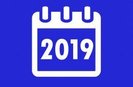 Programnaptár 2019